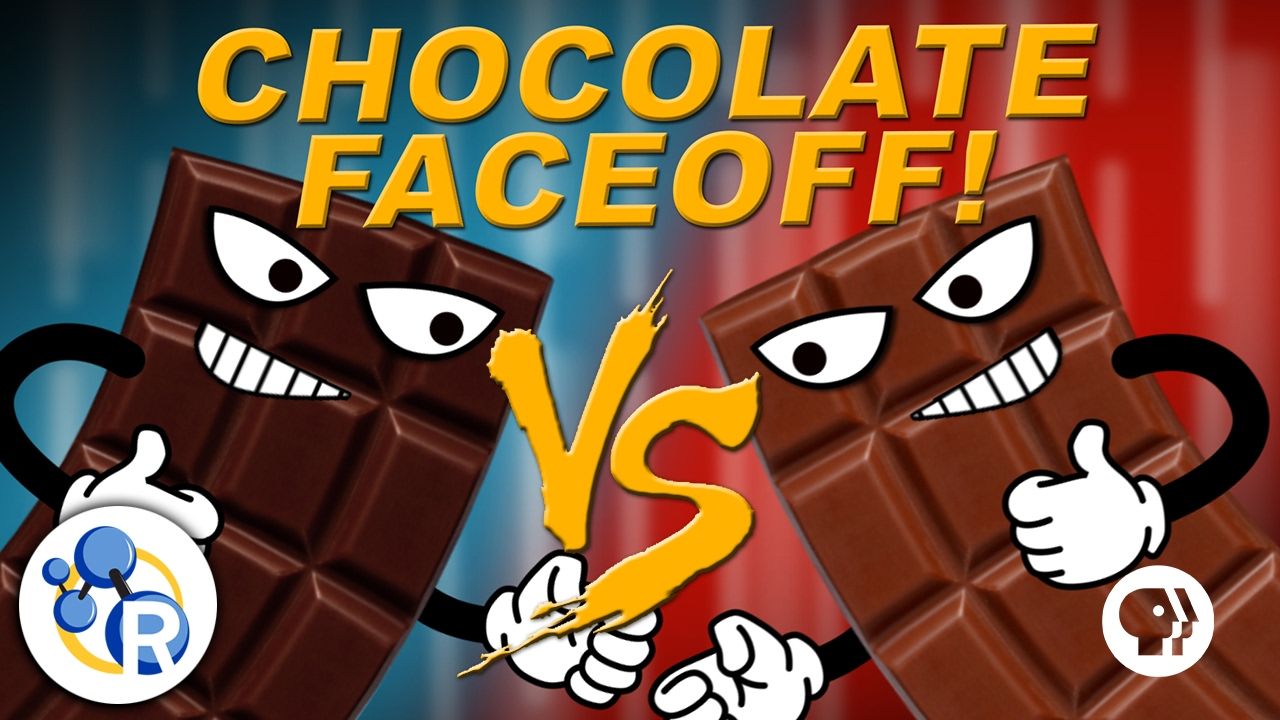 Dark Chocolate and Milk Chocolate Battle It Out in a Chemistry ...