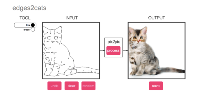 edges2cats Good Cat