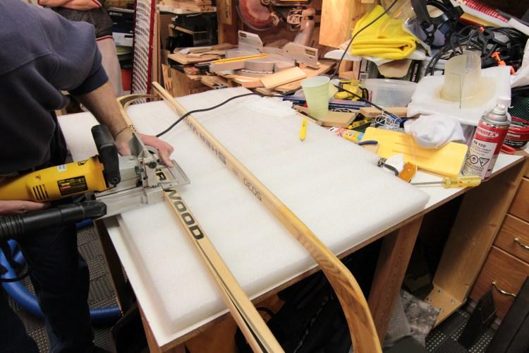 Hockey Stick Guitar Sticks