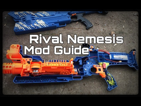 How to Turn the Nerf Rival Nemesis MXVII-10K Blaster Into a Foam Bullet Hose