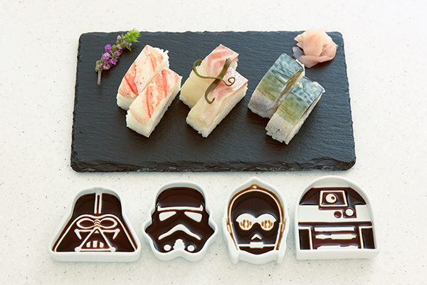 Star Wars Soy Sauce Dishes