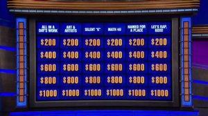 Jeopardy Rap