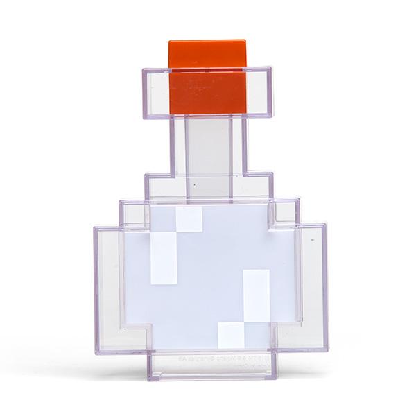 Magical Minecraft Color Changing Potion Bottle