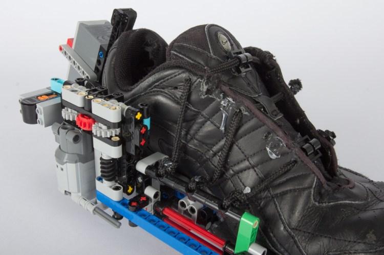 LEGO Sneaker Close on Mechanics