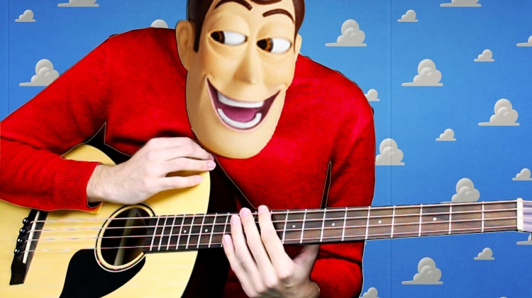 Musician Plays an Uplifting Acoustic Bass Cover of 'You've Got a Friend in Me' From Toy Story