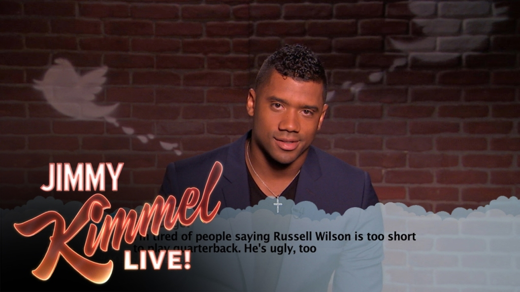 NFL Football Players Read Mean Tweets About Themselves on Jimmy Kimmel Live