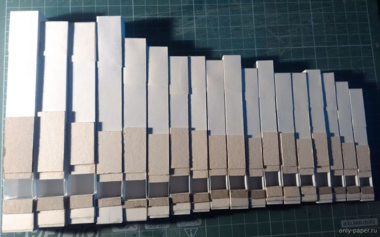 Paper Organ Pipes