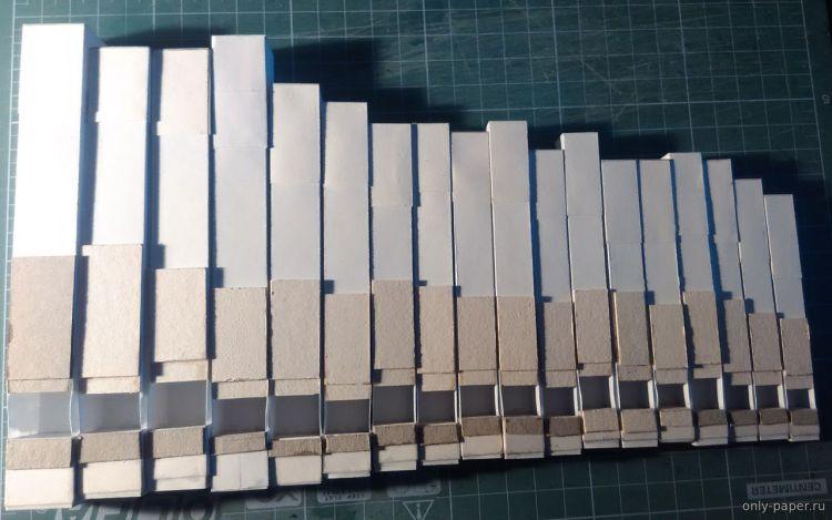 Paper Organ Pipes
