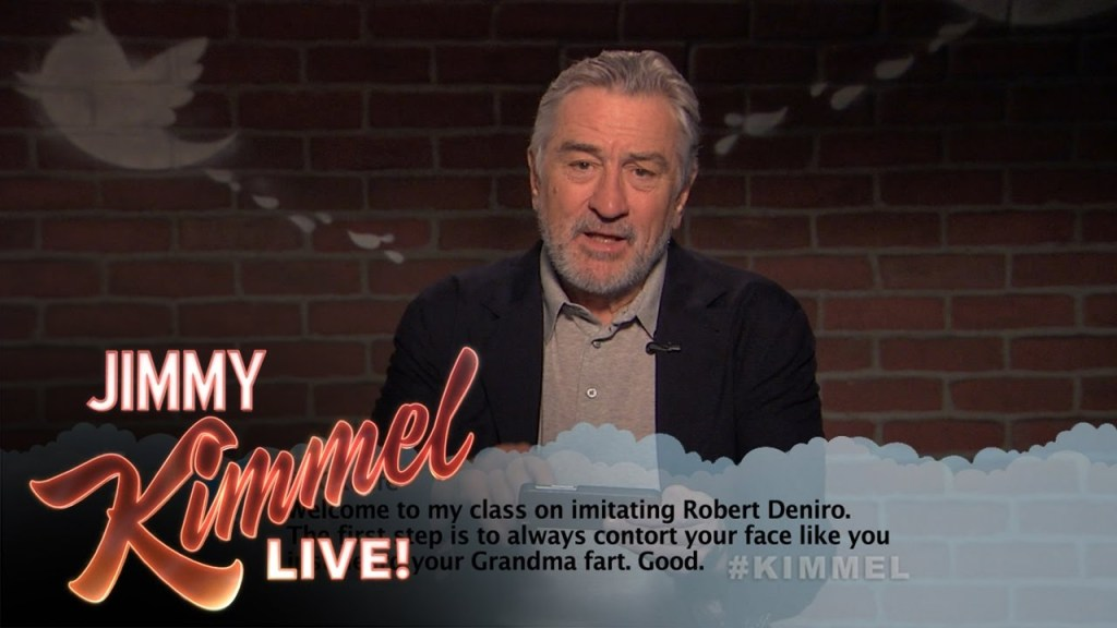 Robert De Niro Reads Mean Tweets About Himself and Fires Back