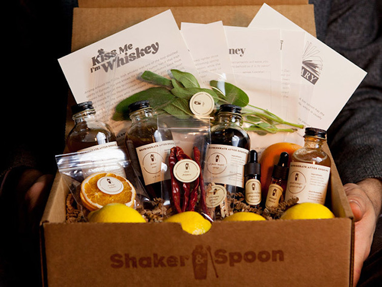 Image result for Shaker & Spoon Cocktail Kit Subscription Service