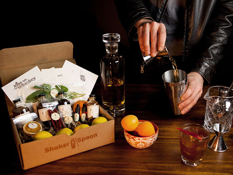 Shaker & Spoon Cocktail Club, A Cocktail Ingredient Subscription Service With Convenient Home Delivery