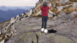 Tom Scott on a Mountain