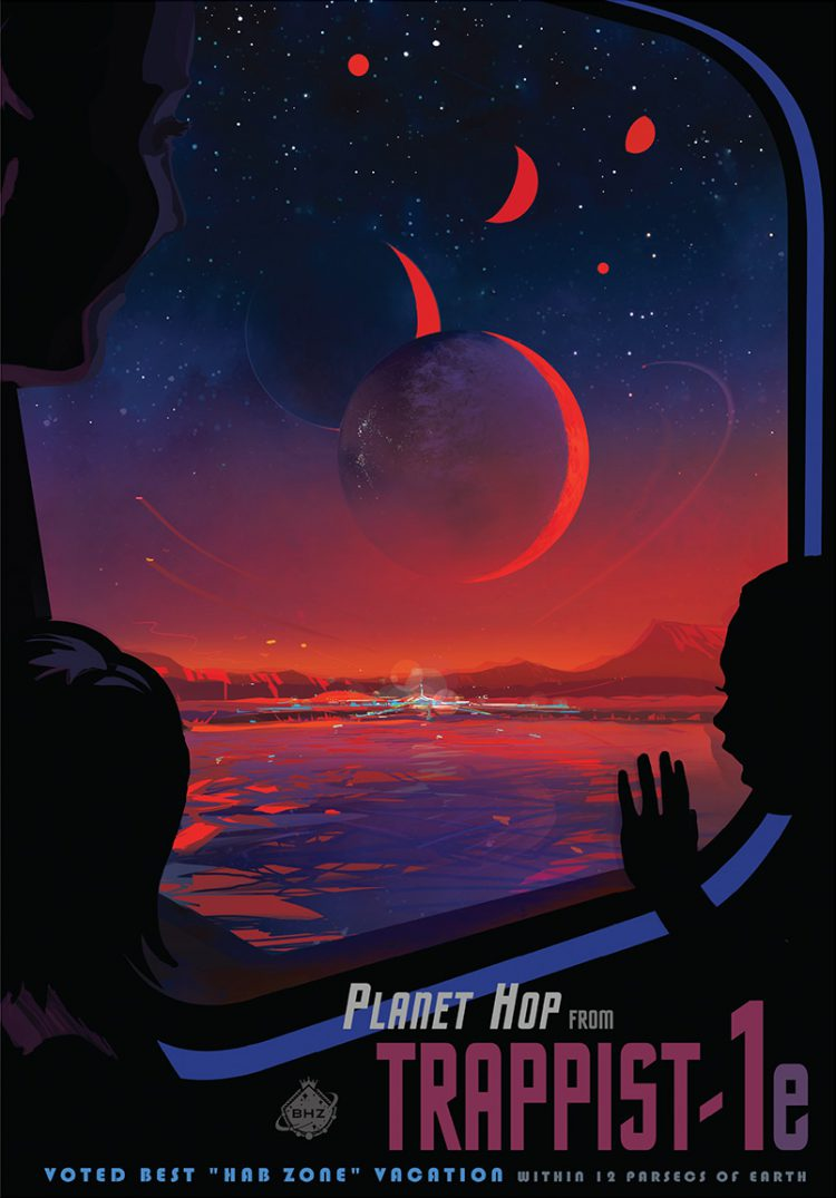 TRAPPIST-1 Poster