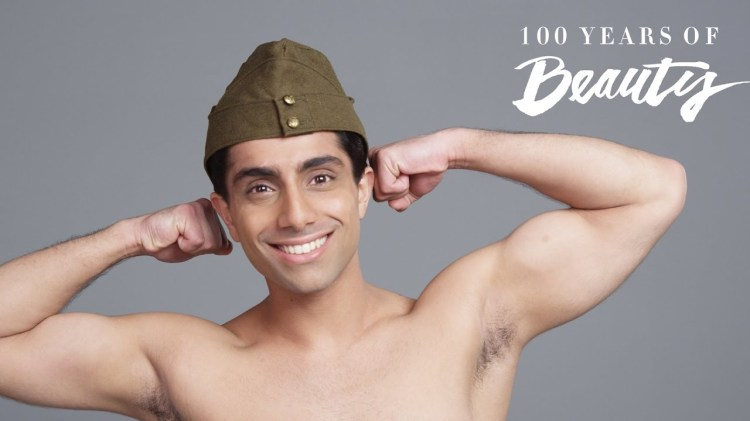 100 Years of Male Beauty in India Shown  Decade by Decade In a Chronological Timelapse