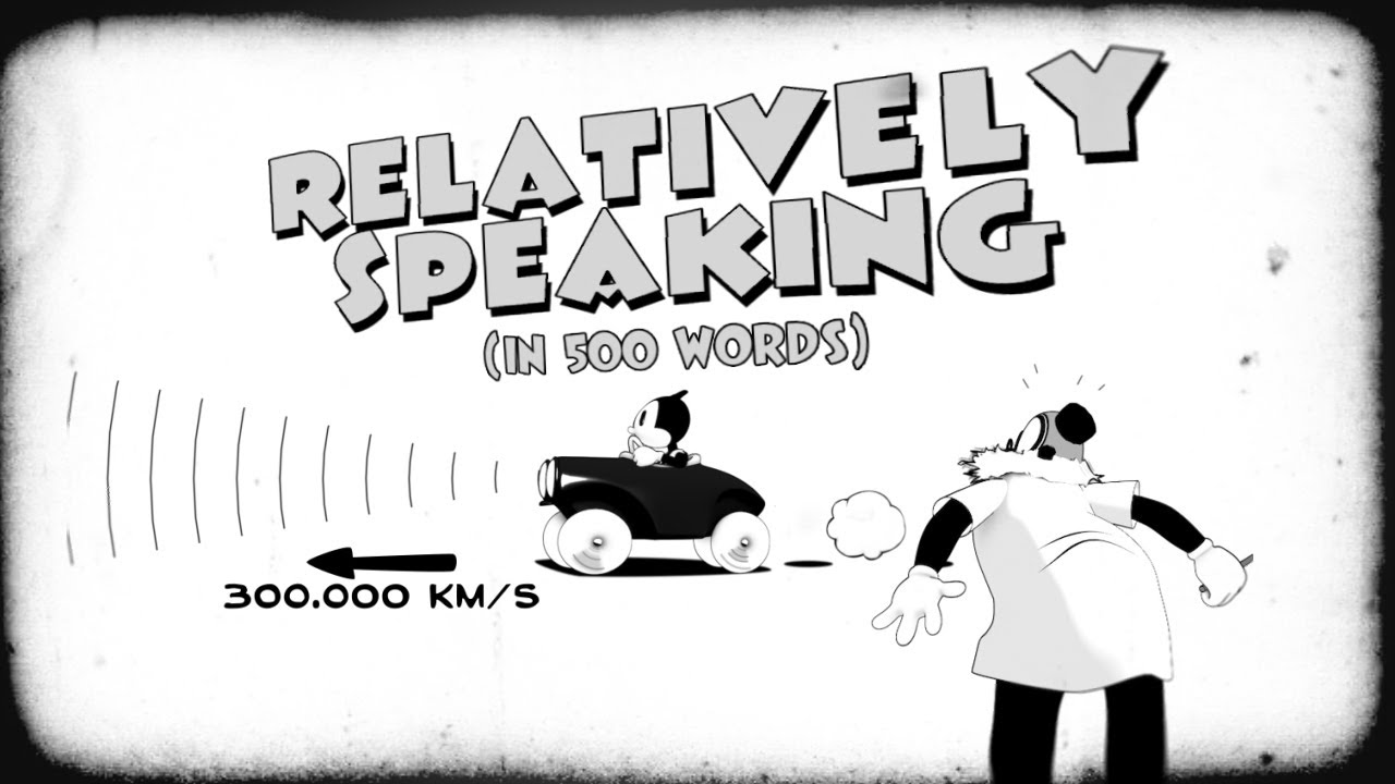 A Charming 1930s Style Animation That Explains General Relativity in Just 500 Words