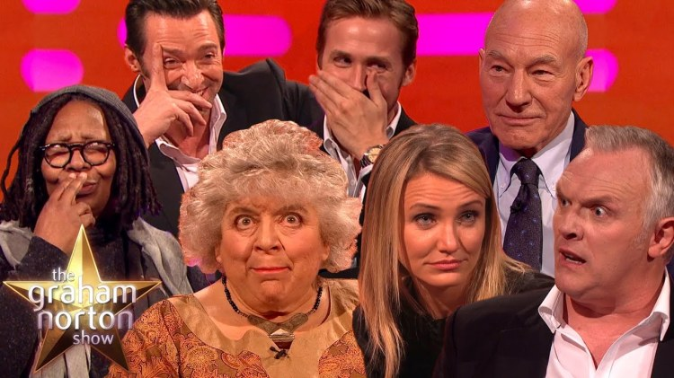 A Hilarious Compilation of Outrageous Stories Told on the Graham Norton Show