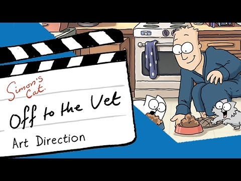 A Vibrant Look at 'Off to the Vet', The Very First  Episode of Simon's Cat in Color
