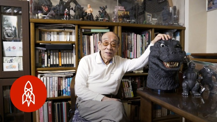Actor Haruo Nakajima Talks About His Career Playing the Iconic Movie Monster Godzilla