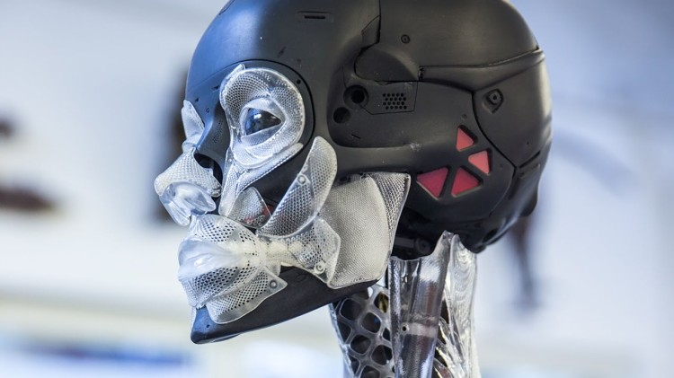 Adam Savage Learns How Weta Workshop Built the Robot Endoskeleton From 'Ghost in the Shell'