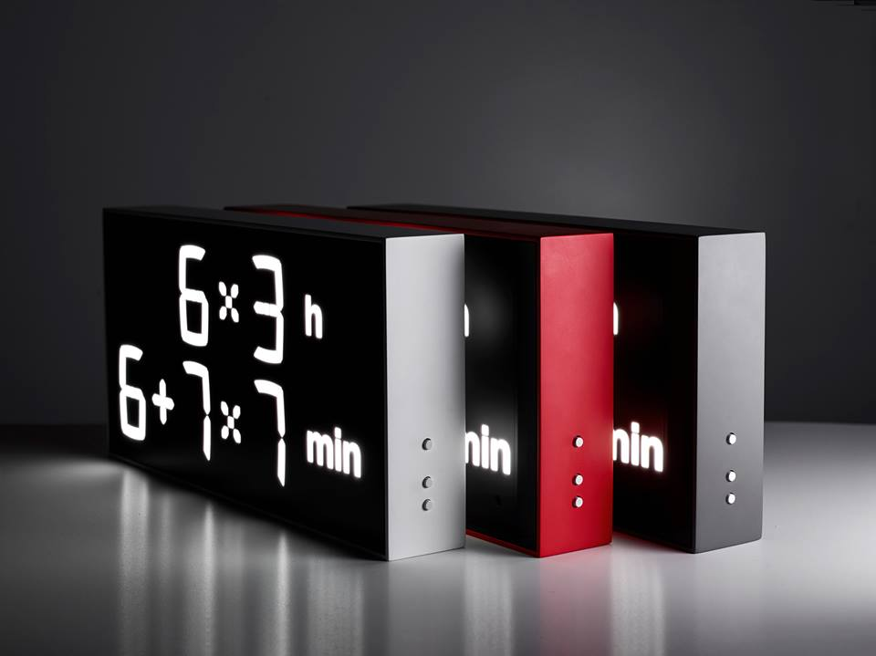The Albert Clock, A Clock That Requires Users to Calculate the Time With Mathematical Expressions