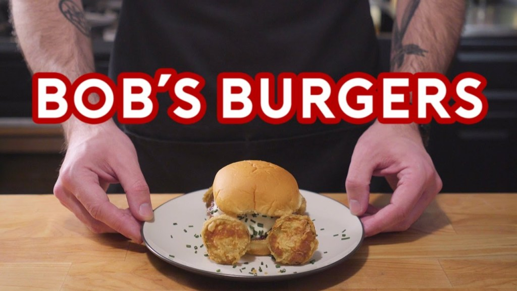 Binging With Babish Prepares Some of Bob's Burgers Most Popular Punny Patties