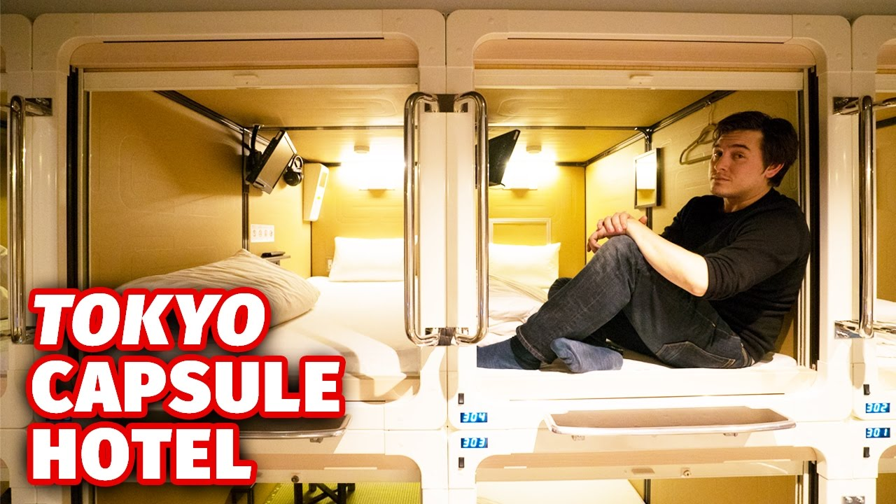 British Expatriate Spends an Economical Night in a Tokyo Capsule Hotel With a Pile of Kit Kat Wasabi