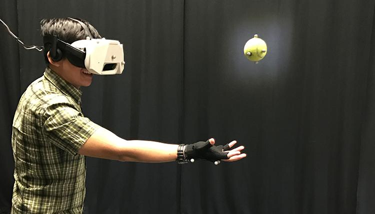 virtual balls