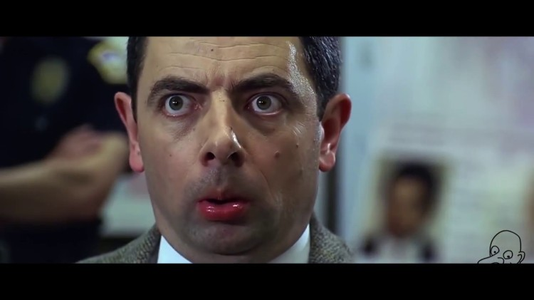 Mr. Bean Turned Into a Violent Maniac