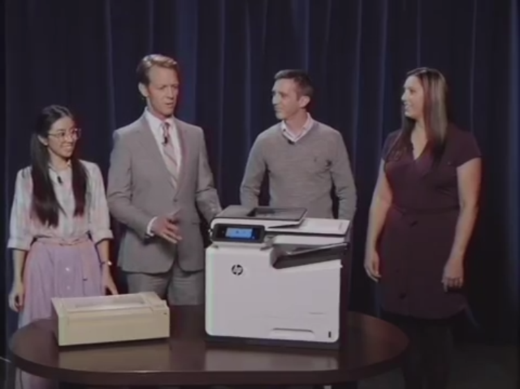 Computer Show Returns to Test the New HP PageWide Printer Against a 1980s Dot Matrix