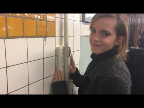 Emma Watson Secretly Hides Copies of a Book by Maya ... Emma Watson Author