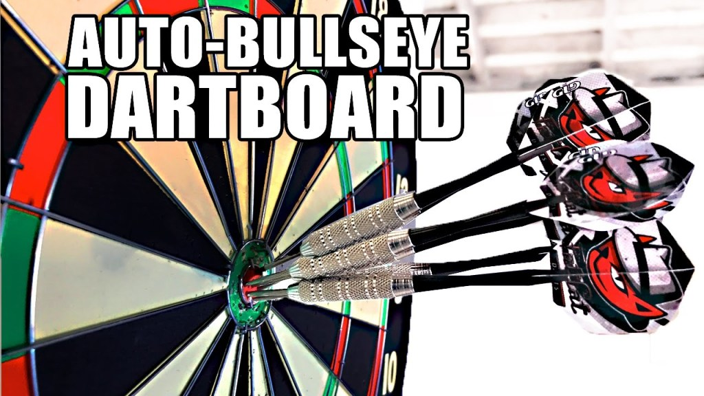 Engineer Mark Rober Builds a Moving Dartboard That Allows You to Hit the Bullseye Every Time