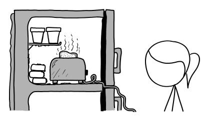 Freezer vs. Toaster