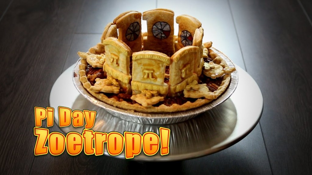 How to Construct a Completely Edible Working Pi Day Zoetrope Pie