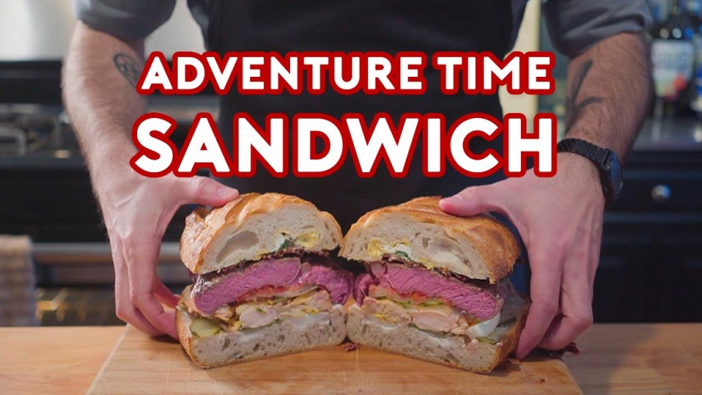 How to Prepare Jake's Perfect Sandwich From Adventure Time