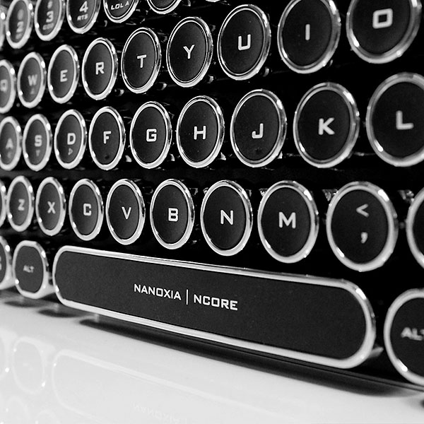 Ncore Retro Keyboard
