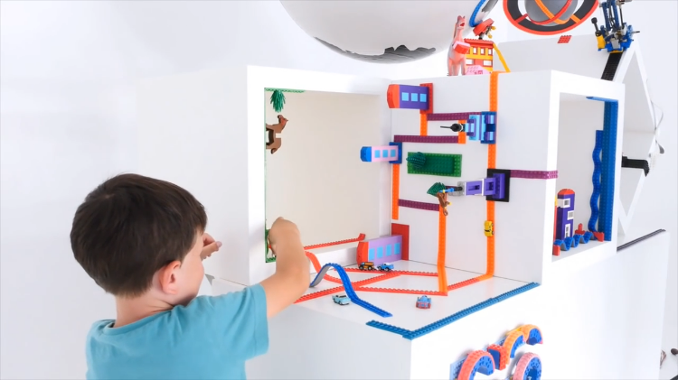 Nimuno Loops, Flexible and Posable Tape That Turns Anything Into a LEGO Compatible Surface