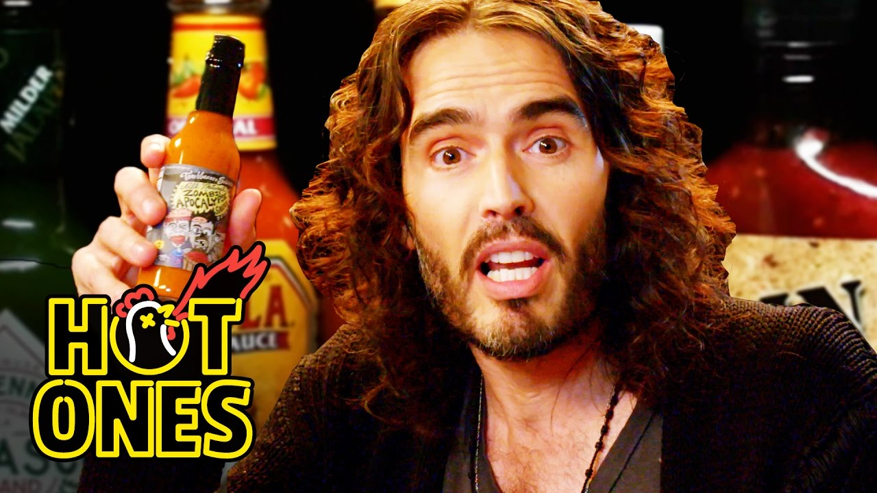 Russell Brand Finds New Levels Of Consciousness While Eating