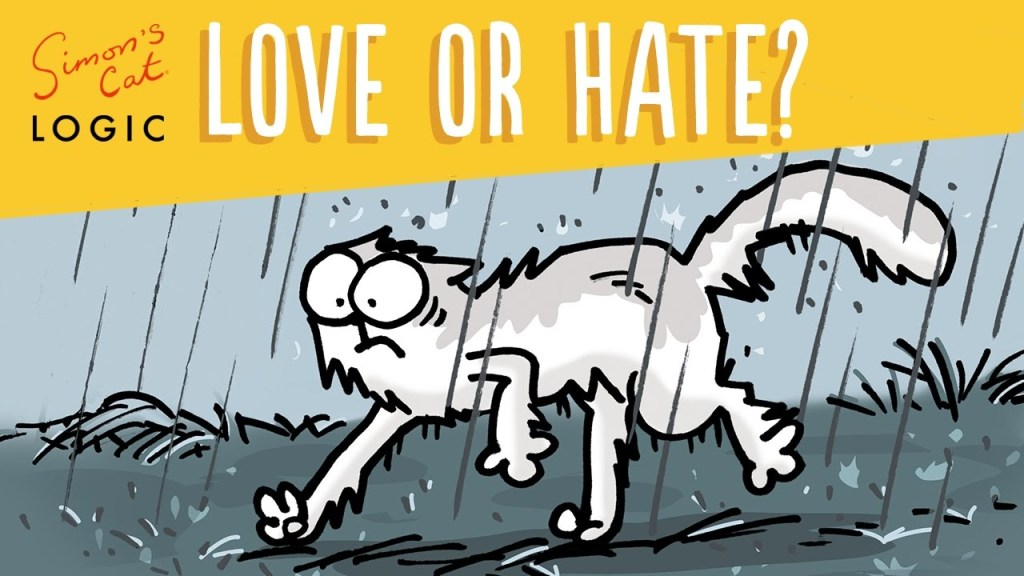 Simon's Cat Logic Explores the Complicated Relationship That Cats Have With Water