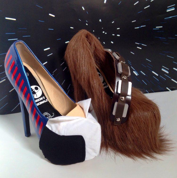 Solo Wookie Heels