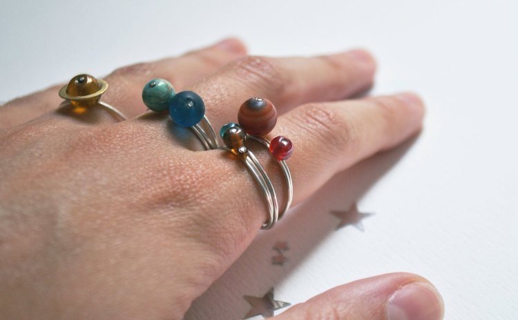 Stacking Rings Fingers