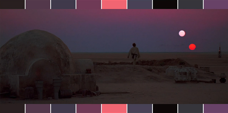Star Wars in One Minute - Color