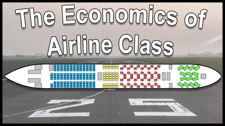 The History and Economics of Airline Class Distinctions