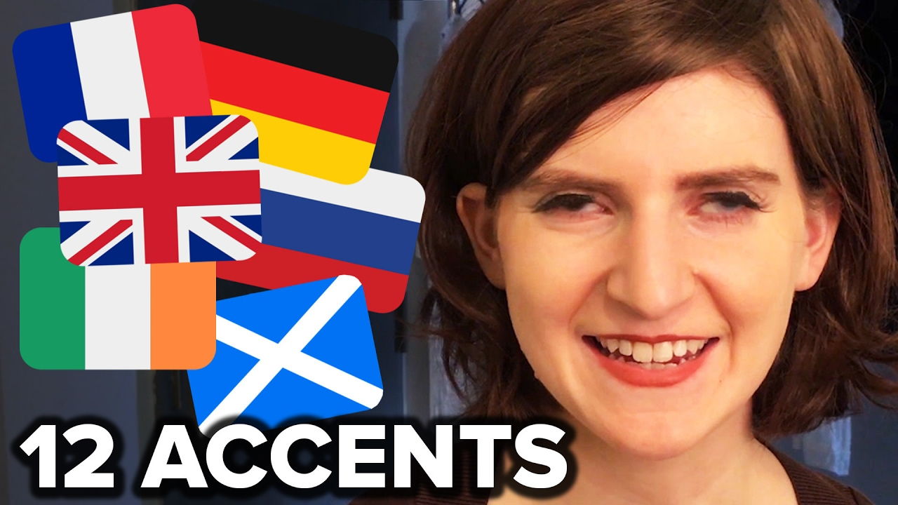American Dialect Coach Demonstrates How to Speak In a Dozen Different International Accents