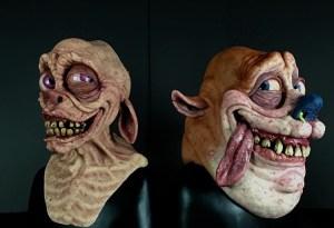 Andrew Freeman Ren and Stimpy Masks