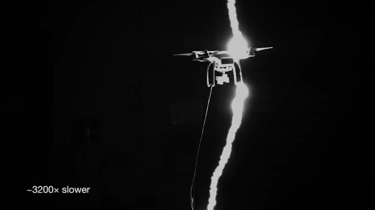 What Happens When a Drone Is Struck by Lightning