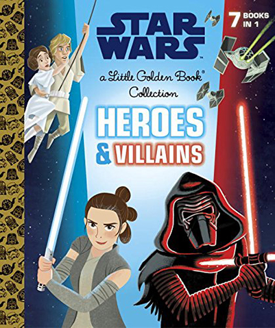 Heroes and Villains Little Golden Book Collection