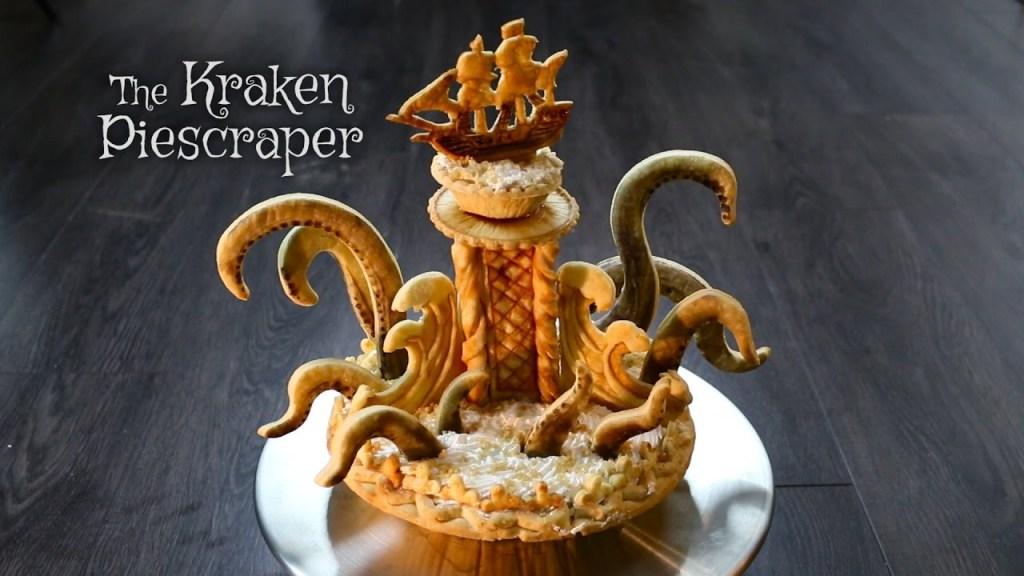 Kraken Piescraper That Towers Over All Other Pies