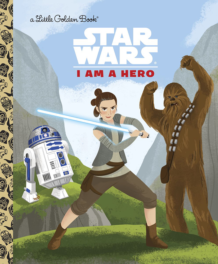 A New Series of Star Wars Little Golden Books Features Ships, Villains, Heroes, and Creatures