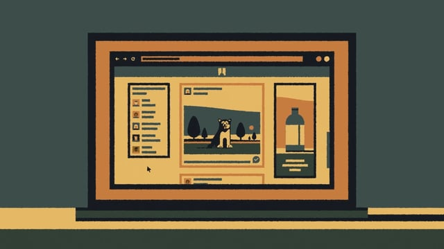 Infinite Scroll, A Thought-Provoking Animated Short About the Prefabrication of Social Media