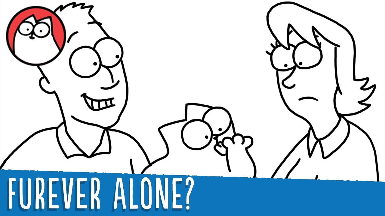 Simon's Cat Goes to Extreme Lengths to Chase Away Simon's Dinner Date For Good